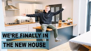 We're finally in the new house