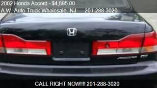2002 Honda Accord EX V6 sedan - for sale in Hasbrouck Hts, N