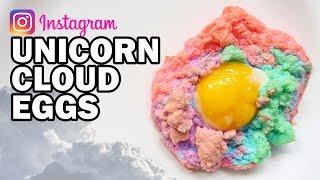 🦄 DIY Unicorn Cloud Eggs - Man Vs Instagram #3