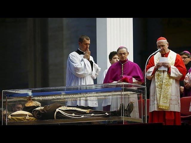 Catholic Saint Padre Pio's remains begin journey to the Vatican