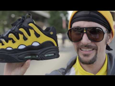 100 Kickflips in the Osiris D3 Shoes