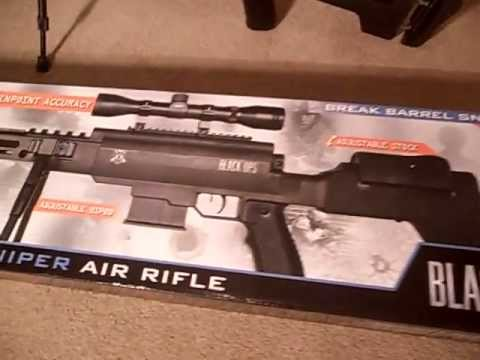 Black Ops new .177 Sniper pellet gun by ignite air gun