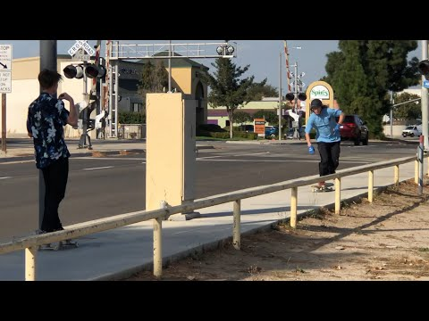 ANDY ANDERSON VS WORLDS LONGEST RAIL !!! - NKA VIDS -