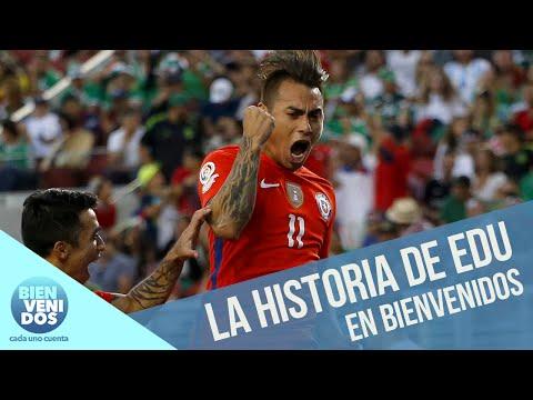 La emotiva historia de Eduardo Vargas