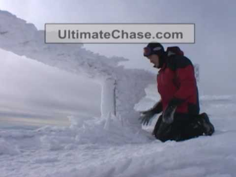 Mt. Washington Summit Extreme Weather and Wind Video