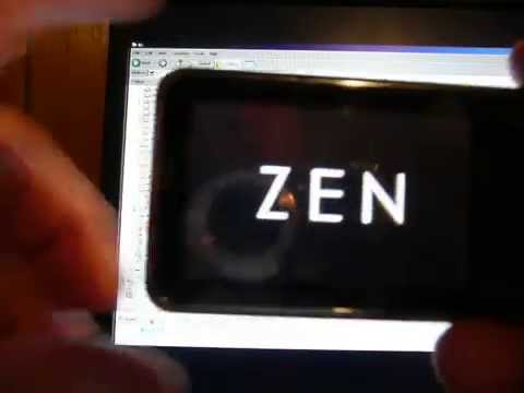 Zen XFI2 Uploading and Downloading