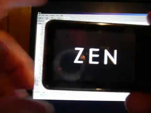 Zen XFI2 Uploading and Downloading