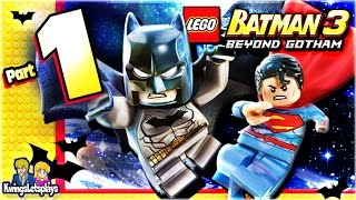 LEGO BATMAN 3 - Walkthrough Part 1 Pursuers in the Sewers!