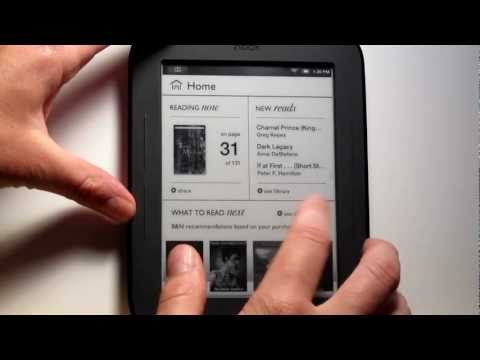 Rooted Nook Touch Review - eReading Apps. PDF. Web Browser. etc