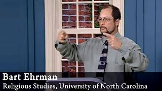 Video: Matthew, Mark, Luke and John are NOT objective, historically accurate accounts of Jesus' life - Bart Ehrman