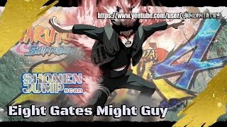 Naruto Shippuden Ultimate Ninja Storm 4™Gai Oito Portões / Eight Gates Might Guy Confirmed! jUMP
