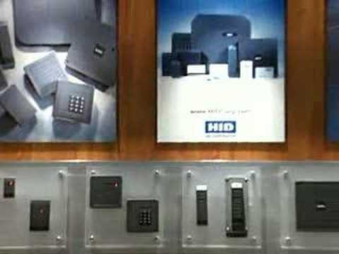 HID iCLASS Contactless Smart Card presentation