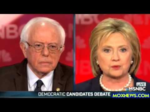 2016 Democratic Presidential Debate In New Hampshire pt.1