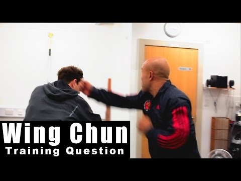 wing chun techniques - how to destroy the boxer continued Q36 - A Image 1