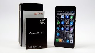 Micromax Canvas Knight A350 (Full HD/Dual Sim/True Octacore) Unboxing & Hands On
