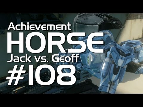 Halo 4 - Achievement HORSE #108 (Jack vs. Geoff)