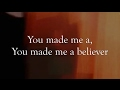 Believer - Imagine Dragons - LYRICS