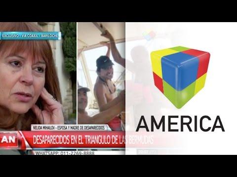 Buscan a tres argentinos perdidos en el Triángulo de las Bermudas