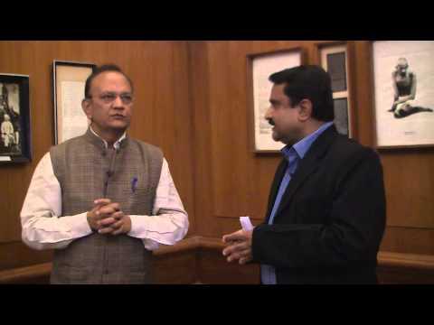 Rajesh Kumar Singh with Devendra Shastri on Pt.Nehru.