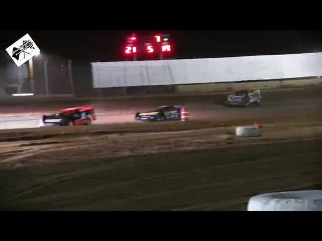 Late Model Main January 10th 2015 At USA Raceway