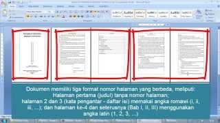 Copy of Cara Membuat Nomor Halaman Berbeda dalam Satu File Word