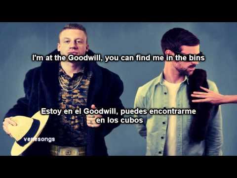 Macklemore Ryan Lewis Thrift Shop Letra Español Inglés