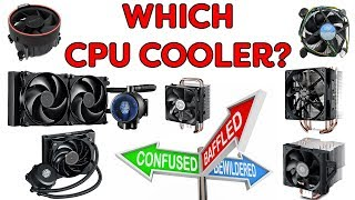 Which CPU Cooler Should You Buy? - Air vs Liquid - 2017 Edition
