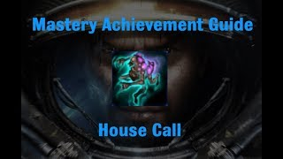 House Call Mastery Achievement - Starcraft 2 Wings of Liberty