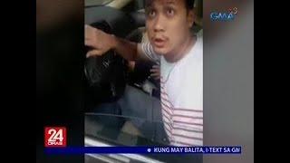 Nagpakilalang tauhan ng MMDA na nakitaan ng ilang paglabag, minura ang nanitang traffic enforcer  from GMA News
