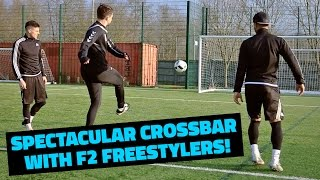 SPECTACULAR CROSSBAR WITH F2 FREESTYLERS!