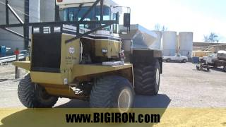 BIG IRON ONLINE AUCTION 3-12-2016: 1996 Terragator 1844 Spreader/Floater