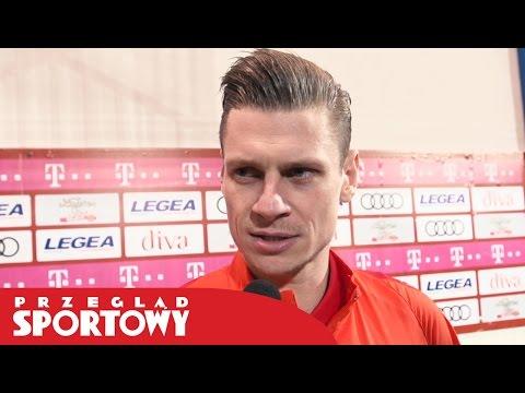 Łukasz Piszczek Po Golu W Meczu Czarnogóra - Polska 1:2