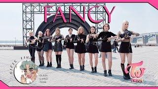 """[KPOP IN PUBLIC] TWICE (트와이스) - """" FANCY """" Dance cover by Girls Line from Russia [WINDY VERSION]"""