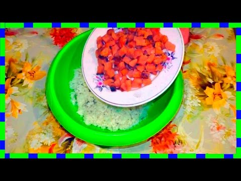 Вкусняшки от Любашки, Рисовый Салат