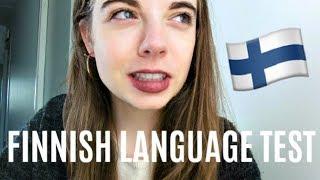 Testing my finnish skills   My life in Finland
