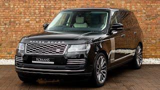 2019 Range Rover 5.0 Autobiography LWB - Santorini Black - Walkaround, Interior - High Quality