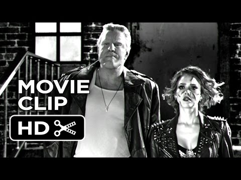 Sin City: A Dame To Kill For Movie CLIP - Looks Like Trouble (2014) - Jessica Alba Movie HD