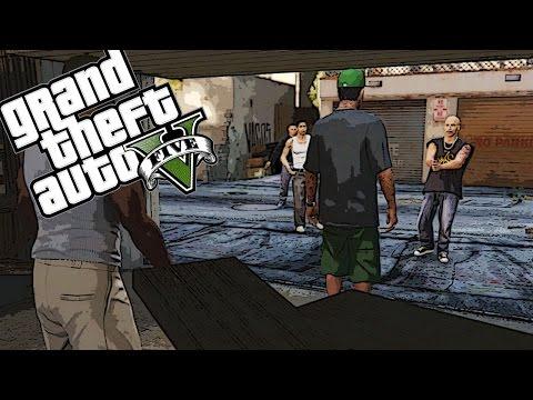 WIESO MUSS ICH SO VIELE AUSKNIPSEN?! - Grand Theft Auto V Ep3 - auf gamiano.de