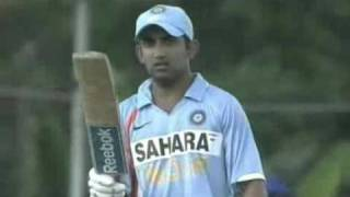 Gambhir Fifty (66) in First ODI vs Srilanka January 2009