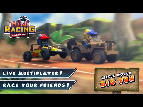 Mini Racing Adventures APK Cover