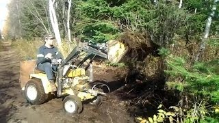 Cub Cadet 149 Loader Test