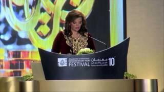 """""""الخيول البشرية"""" في افتتاح مهرجان الجزيرة 2014"""