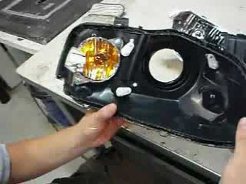 (1) How to build HID projector headlights