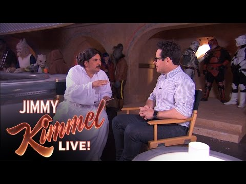 Guillermo's Star Wars Exclusivo with J.J. Abrams