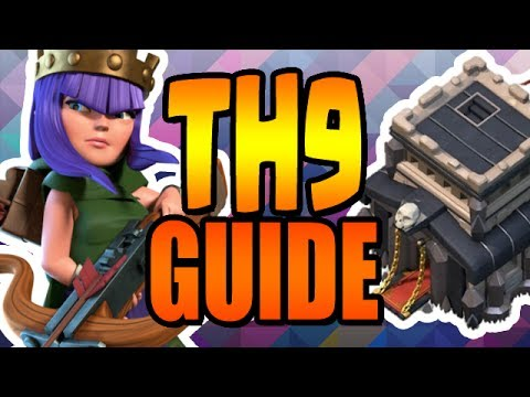 ULTIMATE TH9 Upgrade Guide & Lab Guide JULY 2017 Clash of Clans