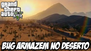 GTA V - Bug do Armazém no Deserto e Taco de Golfe Assassino