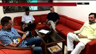 Kejriwal 8th Day Protest | Deputy CM Manish Sisodia Getting Unhealthy | Delhi