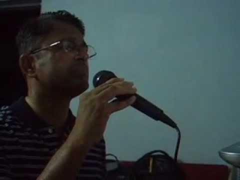 Sham E Gham Ki Kasam Karaoke by Subhash Kunnath