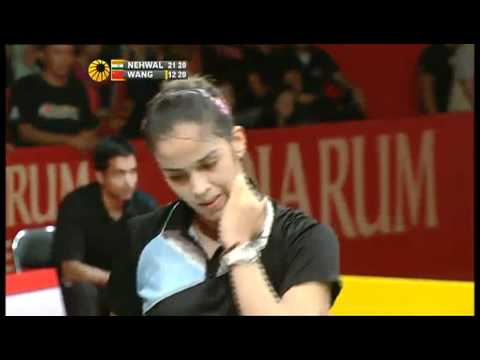 Finals - Saina Nehwal vs. Wang Yihan - Djarum Indonesia Open 2011