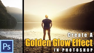 Photoshop Tutorial: How to Create a Golden Glow Effect in Photoshop - Example: The Golden Sunset